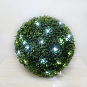 Самшитовый шар с подсветкой